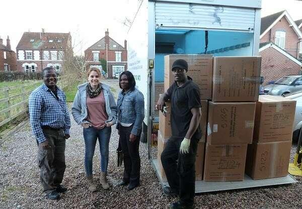 Ghana door-to-door shipping is a friendly, family run business.