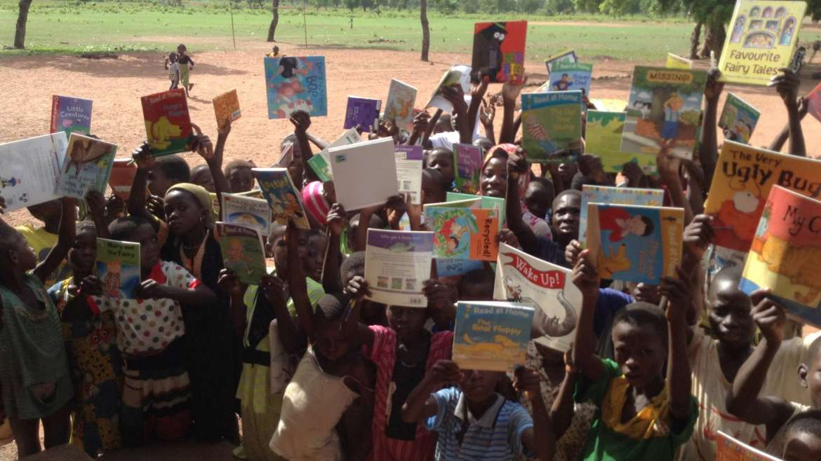 A huge thank you to Ghana Door-to-Door shipping for safely delivering 15 boxes of donated children's books