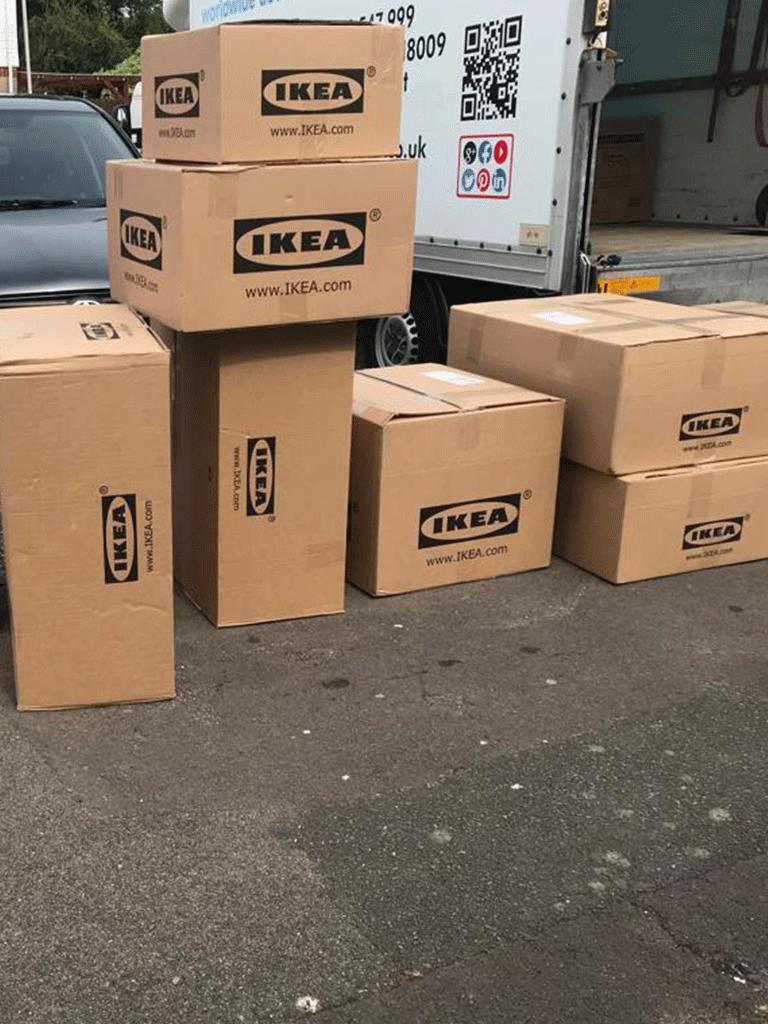 Buy online and ship to door service