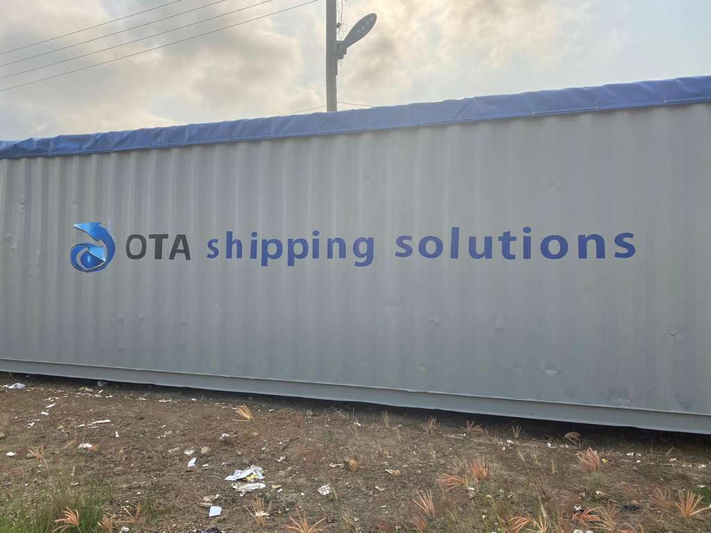 OTA Solutions branded container